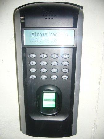 Биометрические двери